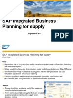 01 IBP for Supply Planning Overview