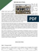 Historia Del Fútbol y Voley