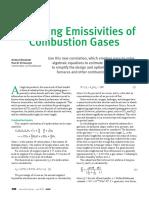 Predicting Emissivities