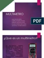 Presentacion Multimetro