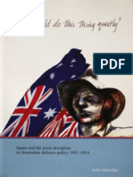 We Should Do This Thing Quietly - Japan and the Great Deception in Australian Defence Policy 1911-1914 (RAAF 2002)
