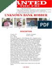 Flip Flop Bandit Wanted Poster