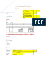 Método de Euler Para Sistemas de Ecuaciones y Para Ecuaciones de Orden Superior