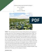 the comprehensive everglades restoration project