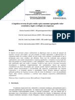 A caracterização da logística reversa de pósvenda e posconsumo  agregando valor econômico legal e ecológico