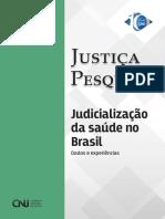 CNJ Pesquisa Judicialização Saúde