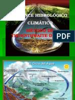 Balance Hidrológico