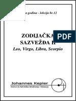 T-12-C Leo, Virgo, Libra, Scorpio
