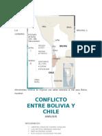 Analisis de Conflicto Entre Bolivia y Chile