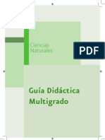 C-Naturales Guia Multigrado