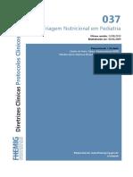 037 Triagem Nutricional Em Pediatria 07082014