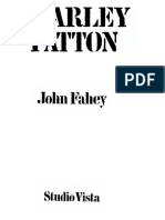 """Charley Patton"" by John Fahey, UCLA Folklore Department c. 1964"