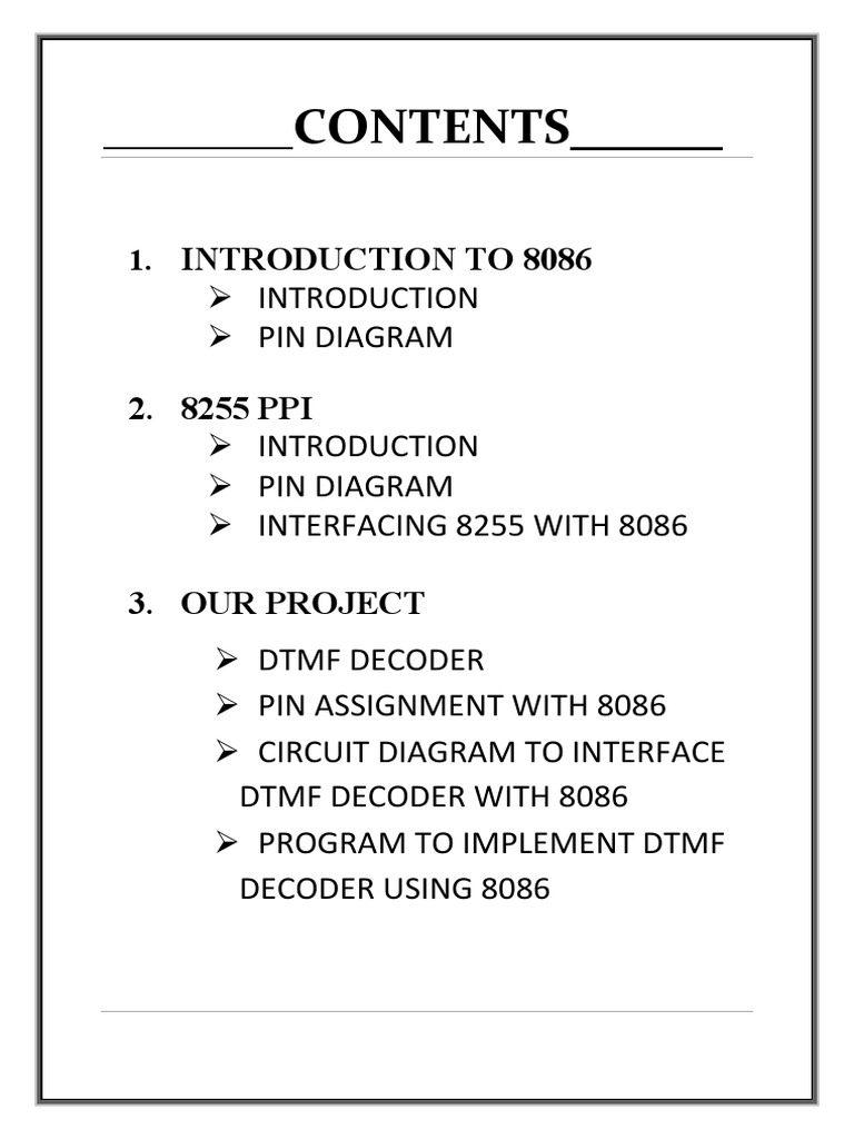 Amp Dtmfpdf Telephone Electrical Engineering Dtmf Based Load Control System Circuit Diagram