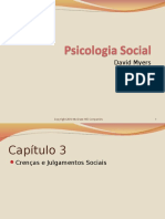 Cap 3 - Crenças e Julgamento Sociais