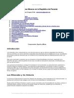 Concesiones Mineras Republica Panama