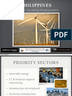 Priority Sectors in the Philippines