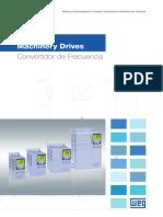 WEG Cfw500 Machinery Drives 50036260 Catalogo Espanol