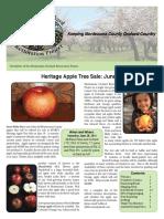 Montezuma Orchard Restoration Project (MORP) Spring Newsletter 2016