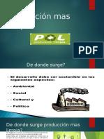 Producción Mas Limpia (Diapositivas)