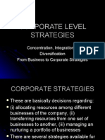 Business Strategy Vii Corp Level