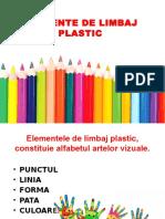 Elemente de Limbaj Plastic Forma