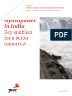 Hydropower in India Key Enablers for Better Tomorrow