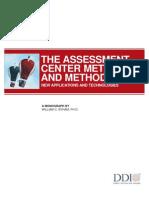 Assessment Center Methods