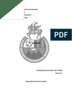 Investigacion de Operaciones II Resumen