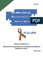 El Autismo en El Perú