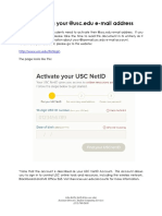 GIP Activating Usc Net Id Email F16