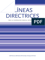 Lineas Directrices Spa