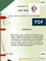 Red Tape e a Crise dos Mísseis de Cuba
