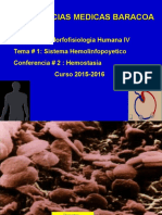 Conferencia Hemostasia 2015