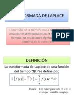 Tema 1- Transformada de Laplace