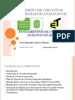 Diseño de Circuitos Integrados Analógicos Octubre 30 2015