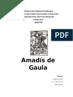 Analisis Amadís de Gaula