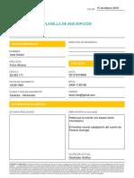 Planila Inscripcion 11022016 Formulario Digital