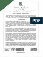 Decreto 442 Sobre Llantas Usadas en Bogotá