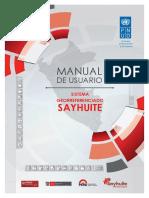Manual georeferencia