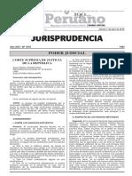 Recurso de Nulidad n.º 2116-2014 Lima [Ejecutoria Vinculante]