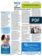 Pharmacy Daily for Tue 02 Aug 2016 - Health Care Homes report, Emerging drugs challenge, Cincotta Mascot award, Guild Update and much more