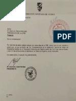Carta de Rolando Lopez