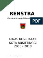 Revisi RENSTRA 2008