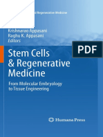 Stem Cells & Regenerative Medicine From Molecular Embryology to Tissue Engineering