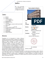 Universidad de Huelva - Wikipedia, La Enciclopedia Libre