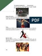 Diferente Clases de Danzas Mundiales Hip Hop Baile