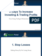 5 ways to increase investing and trading profits
