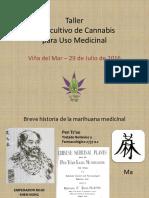 Taller Autocultivo de Cannabis para uso Medicinal