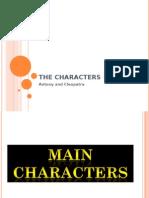 Antony and Cleopatra Characters