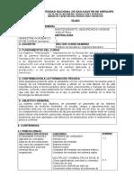 Silabus de Metrología UNSA